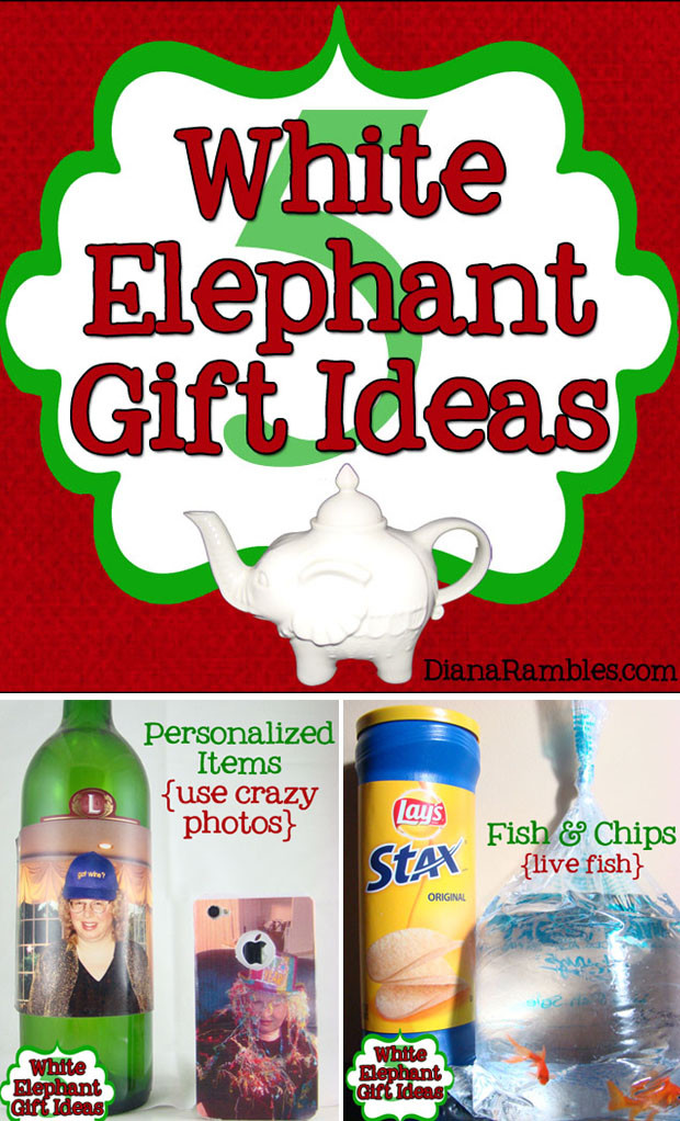Best ideas about What Is A White Elephant Gift Exchange Ideas . Save or Pin Hilarious White Elephant Gift Exchange Ideas for Parties Now.