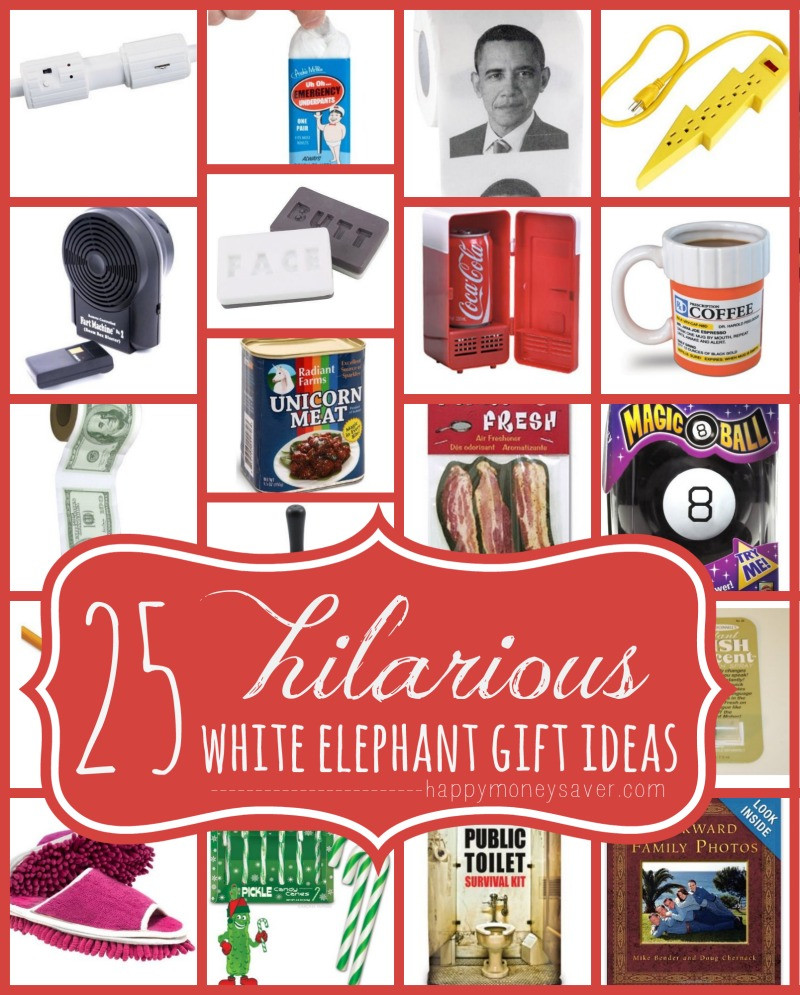 Best ideas about What Is A White Elephant Gift Exchange Ideas . Save or Pin 25 Best Hilarious White Elephant Gift Ideas Now.