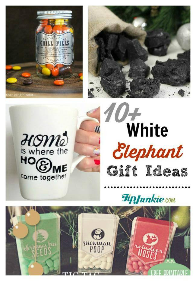 Best ideas about What Is A White Elephant Gift Exchange Ideas . Save or Pin 11 Great White Elephant Gift Ideas – Tip Junkie Now.