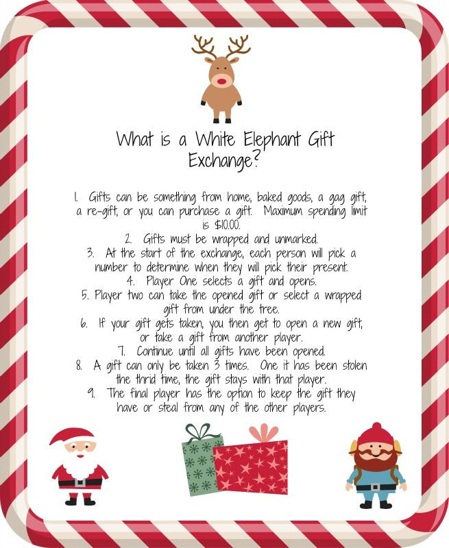 Best ideas about What Is A White Elephant Gift Exchange Ideas . Save or Pin 17 Best ideas about White Elephant Game on Pinterest Now.