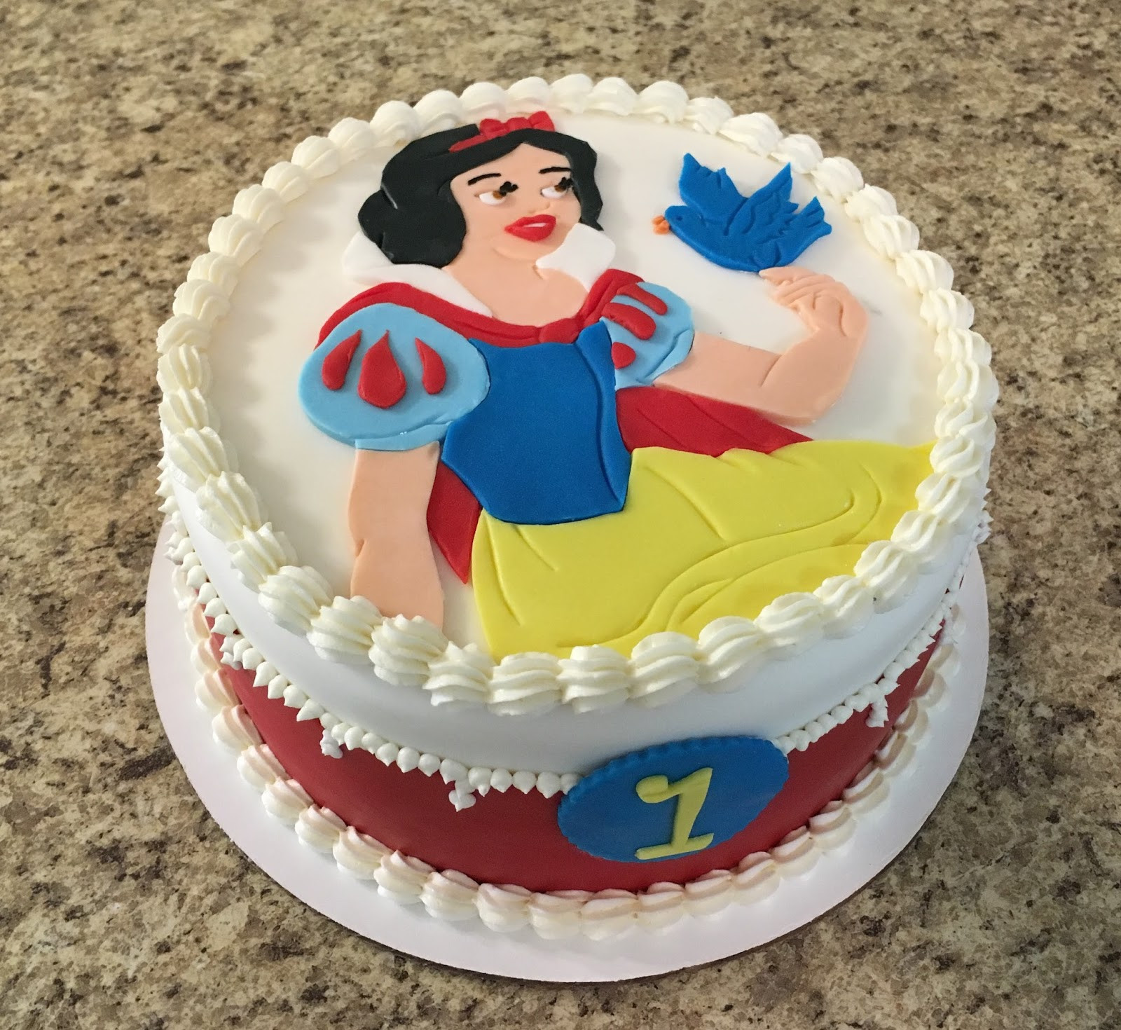 Best ideas about White Birthday Cake . Save or Pin Cakes by Becky October 2016 Now.