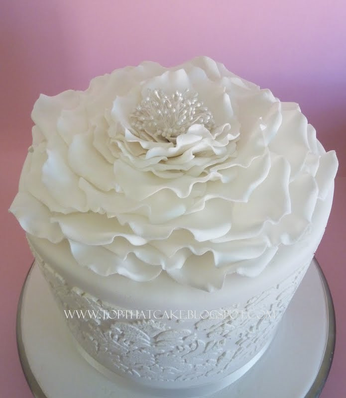 Best ideas about White Birthday Cake . Save or Pin Top That White Floral Fantasy 21st Birthday Cake Now.