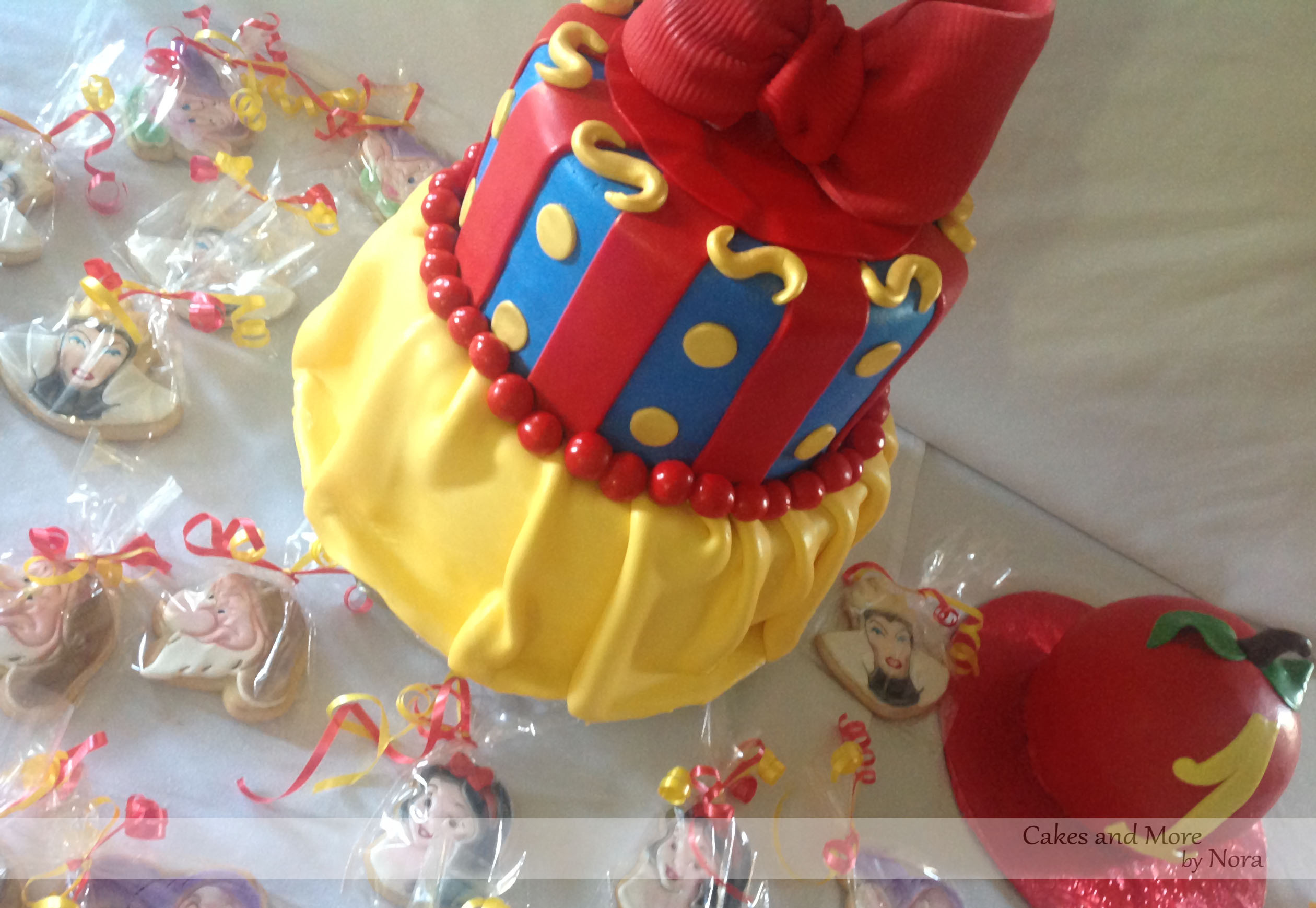 Best ideas about White Birthday Cake . Save or Pin A Snow White 1st Birthday – Cakes and More by Nora Now.