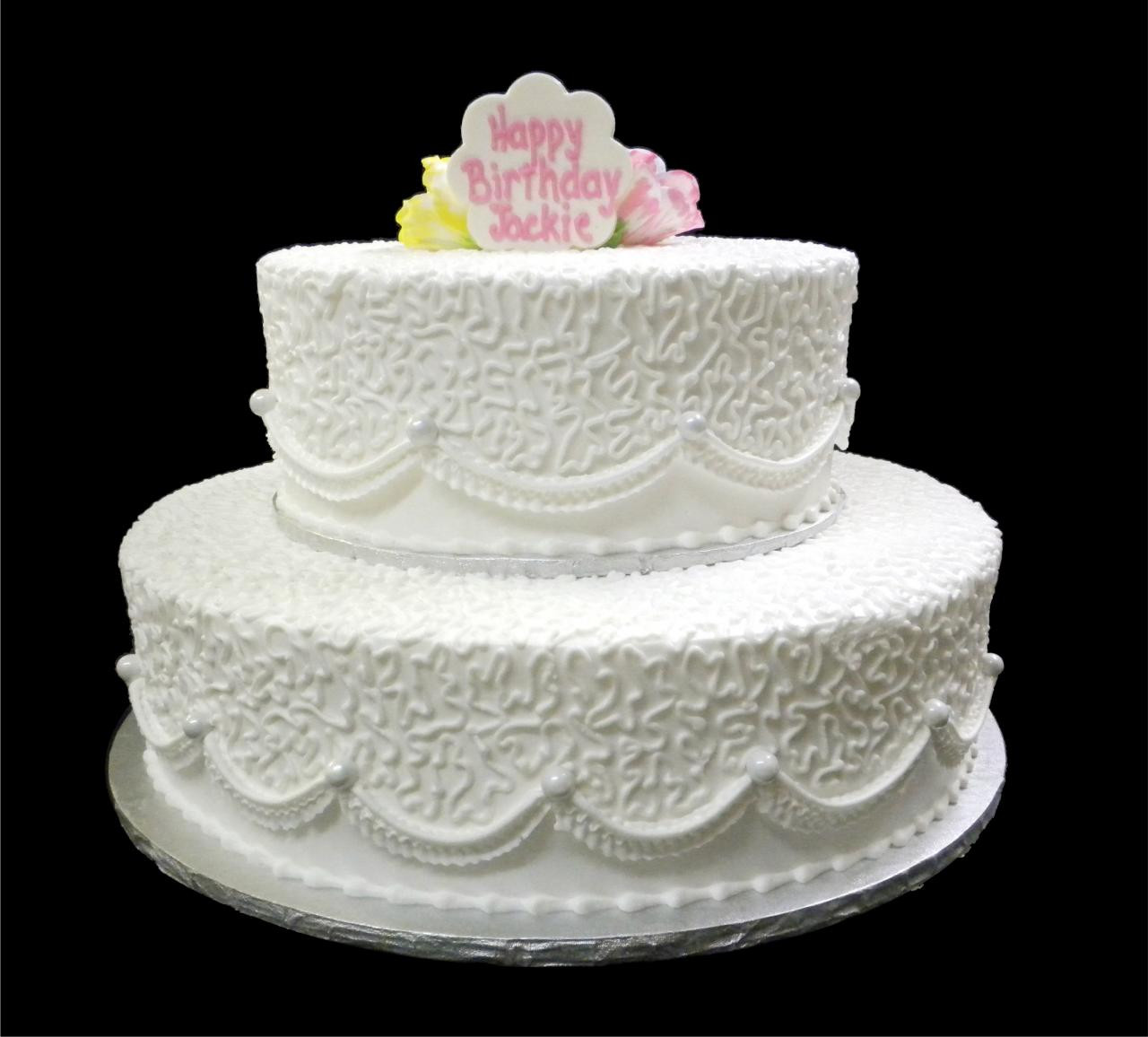 Best ideas about White Birthday Cake . Save or Pin Birthday Cakes Now.