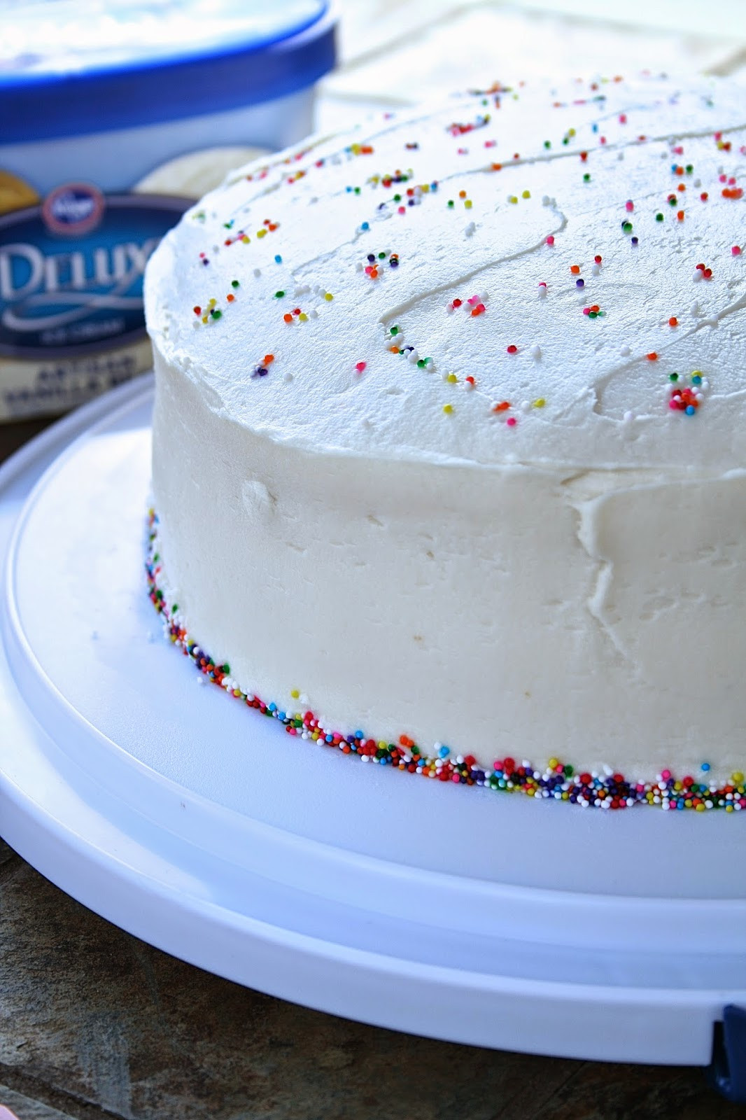Best ideas about White Birthday Cake . Save or Pin Oregon Transplant Classic White Birthday Cake Now.