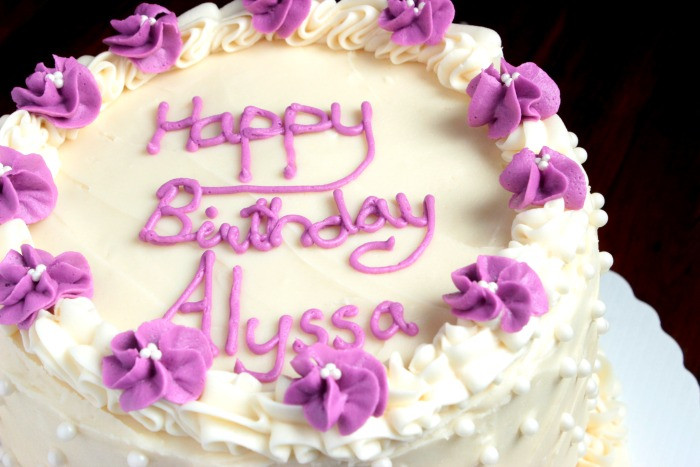 Best ideas about White Birthday Cake . Save or Pin White Chocolate Birthday Cake Big Bear s Wife Now.
