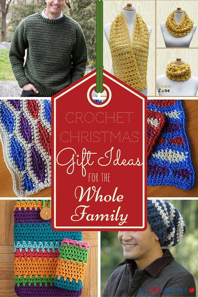 Best ideas about Whole Family Gift Ideas . Save or Pin 25 Crochet Christmas Gift Ideas for the Whole Family Now.