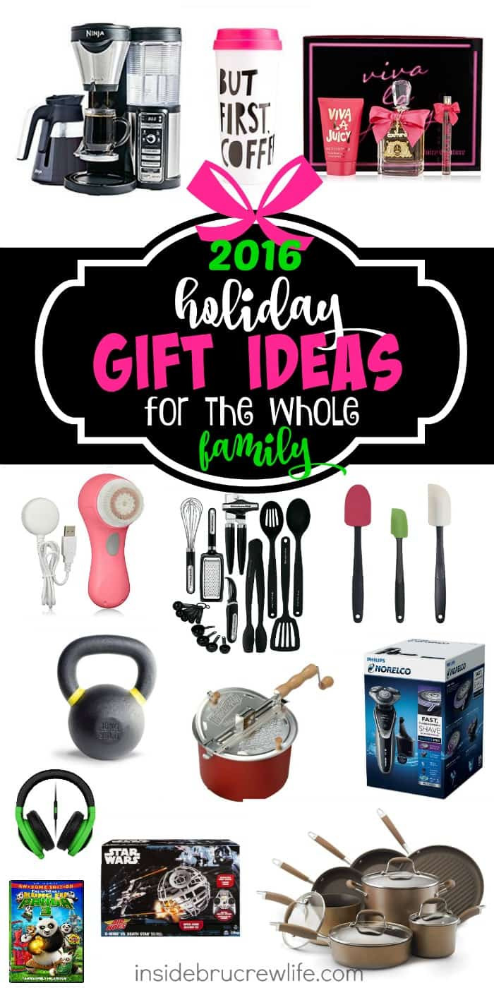 Best ideas about Whole Family Gift Ideas . Save or Pin Holiday Gift Ideas for the Whole Family Inside BruCrew Life Now.