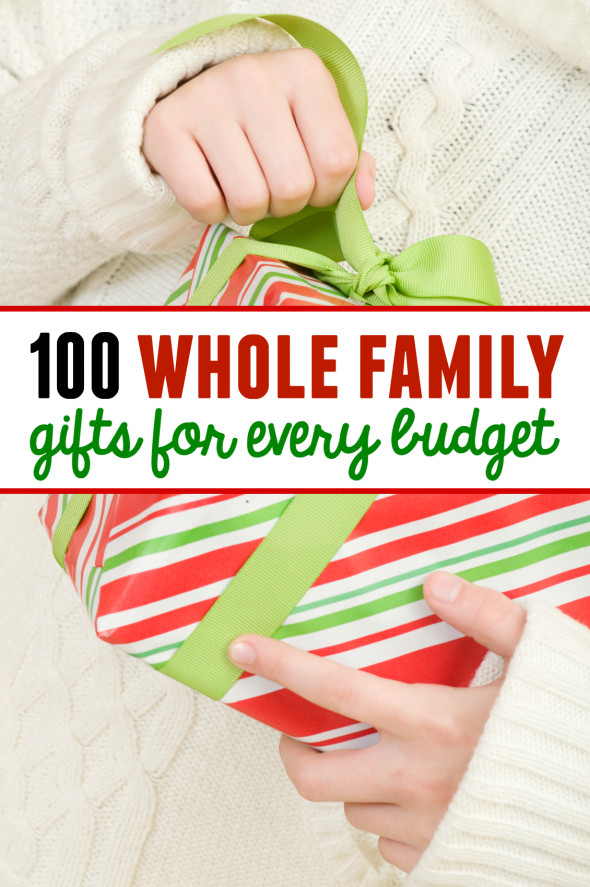 Best ideas about Whole Family Gift Ideas . Save or Pin 100 family t ideas with something for every bud Now.