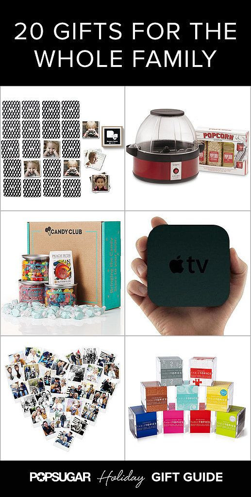 Best ideas about Whole Family Gift Ideas . Save or Pin The Best Holiday Gift Ideas For the Whole Family Now.