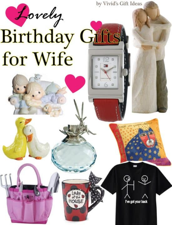 Best ideas about Wife Birthday Gift Ideas . Save or Pin Lovely Birthday Gifts for Wife Vivid s Now.