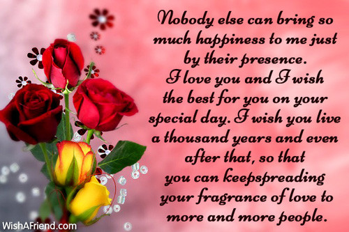 Best ideas about Wife Birthday Wishes . Save or Pin Birthday Wishes For Wife Now.