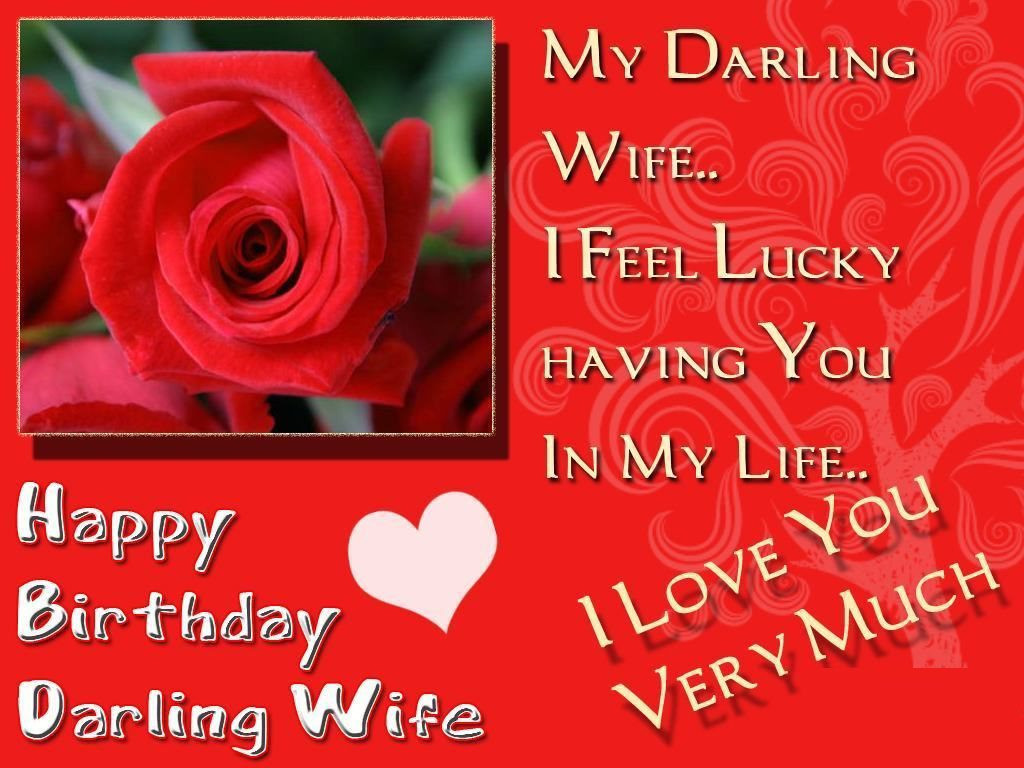 Best ideas about Wife Birthday Wishes . Save or Pin Happy Birthday Wishes for Wife with images Quotes and Now.