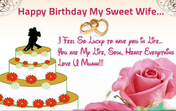 Best ideas about Wife Birthday Wishes . Save or Pin ROMANTIC HAPPY BIRTHDAY QUOTES FOR WIFE image quotes at Now.