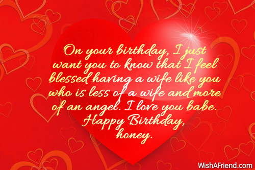 Best ideas about Wife Birthday Wishes . Save or Pin Love Quotes For Wife Birthday QuotesGram Now.
