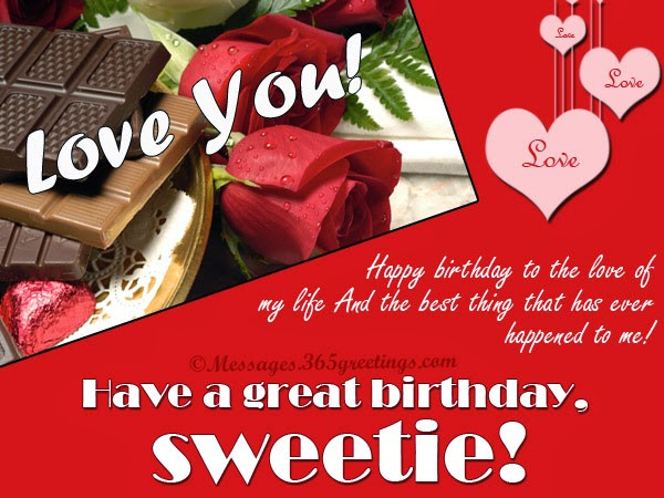 Best ideas about Wife Birthday Wishes . Save or Pin All wishes message Greeting card and Tex Message Happy Now.