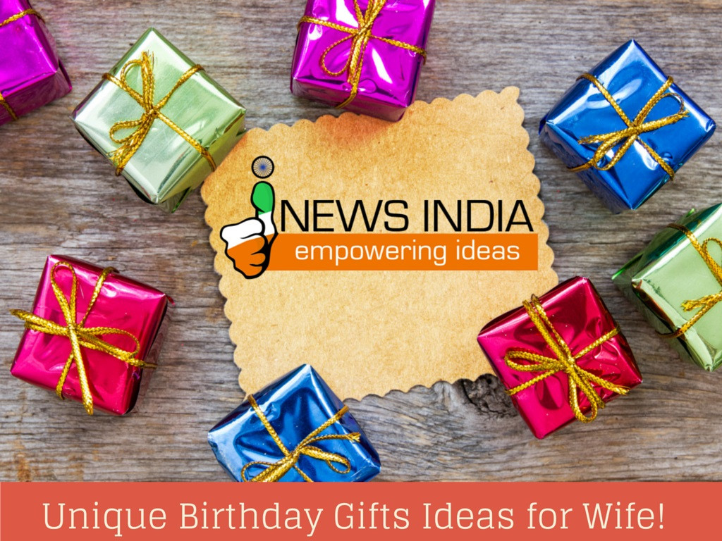 Best ideas about Wife Gift Ideas . Save or Pin Unique Birthday Gifts Ideas for Wife Now.