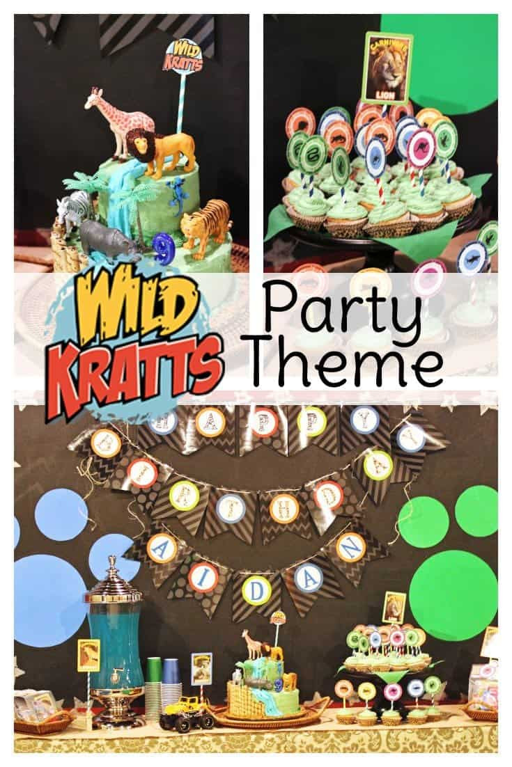 Best ideas about Wild Kratts Birthday Party . Save or Pin Wild Kratts Party Ideas Now.