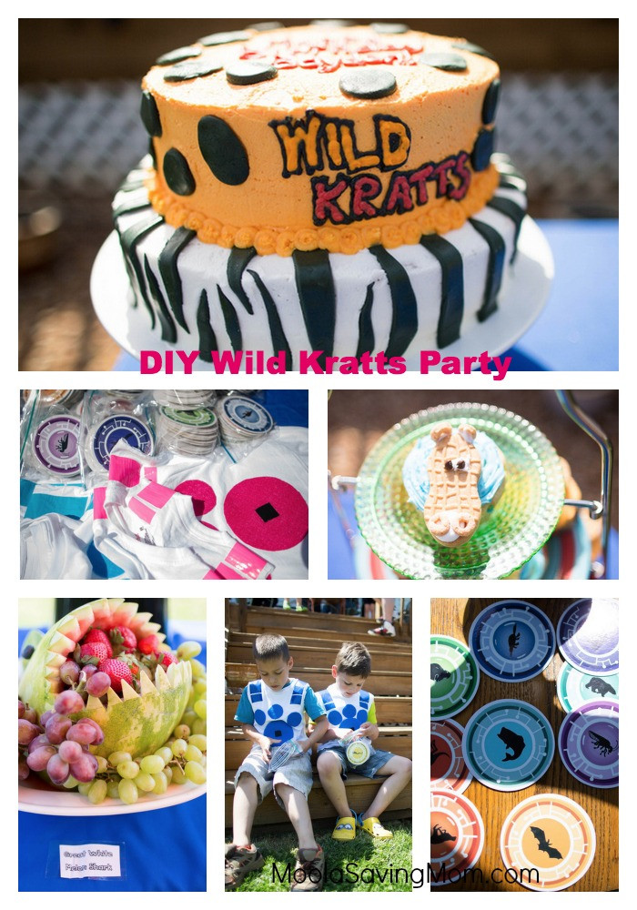 Best ideas about Wild Kratts Birthday Party . Save or Pin DIY Wild Kratts Birthday Party Moola Saving Mom Now.