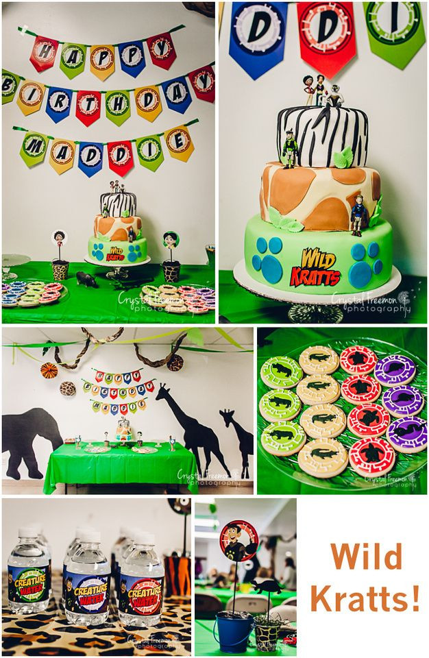 Best ideas about Wild Kratts Birthday Party . Save or Pin Wild Kratts 7th Birthday Party Now.