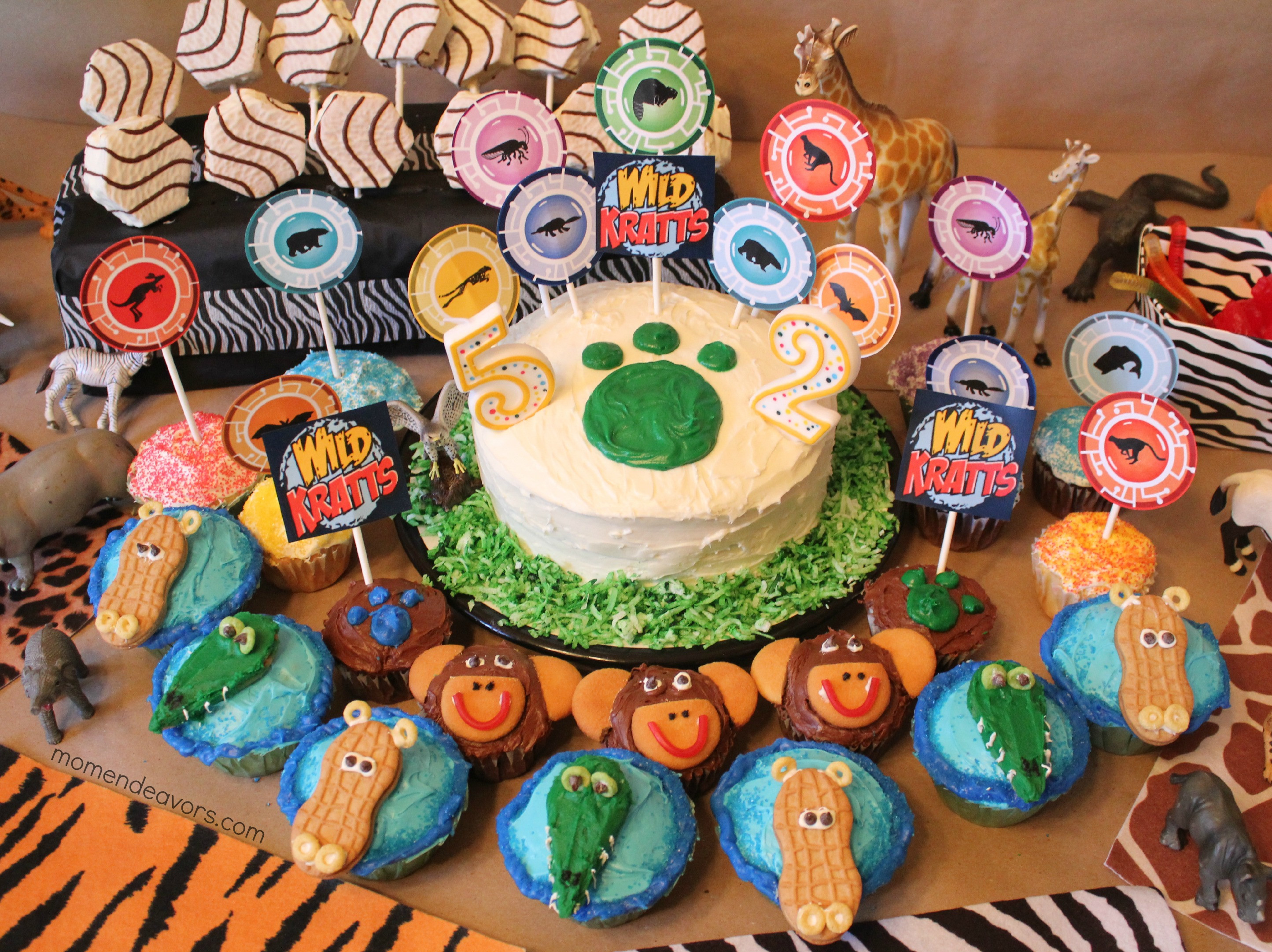 Best ideas about Wild Kratts Birthday Party . Save or Pin Wild Kratts Party – Jungle Animal Cupcakes Directions Now.