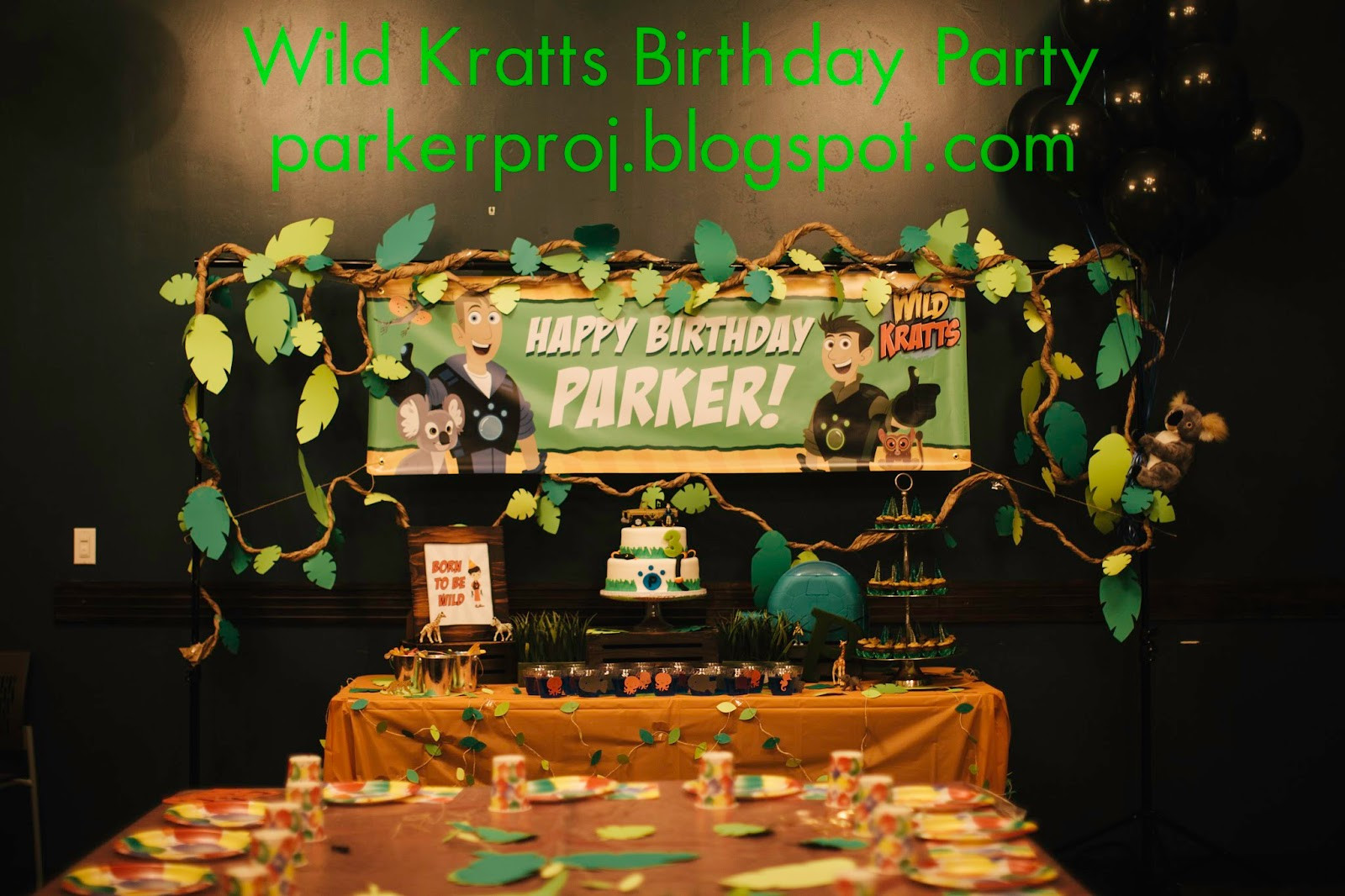 Best ideas about Wild Kratts Birthday Party . Save or Pin The Parker Project Wild Kratts Birthday Party at Nickel Now.