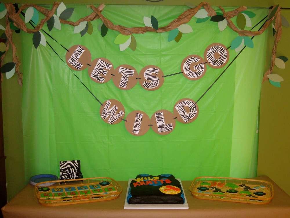 Best ideas about Wild Kratts Birthday Party . Save or Pin Wild Kratts Birthday Party Ideas 5 of 37 Now.
