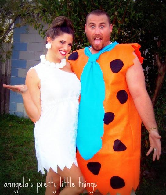 Best ideas about Wilma Flintstone Costume DIY . Save or Pin DIY Fred and Wilma Flintstone costume Now.