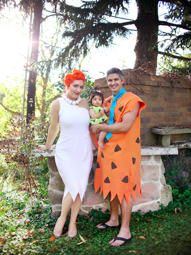 Best ideas about Wilma Flintstone Costume DIY . Save or Pin Dress your family up as the Flintstones for Halloween Now.