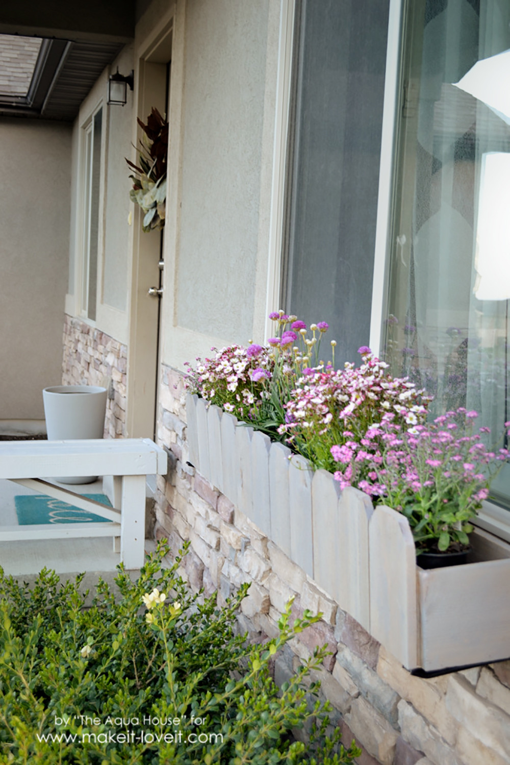 Best ideas about Window Boxes DIY . Save or Pin DIY Window Flower Boxes Now.