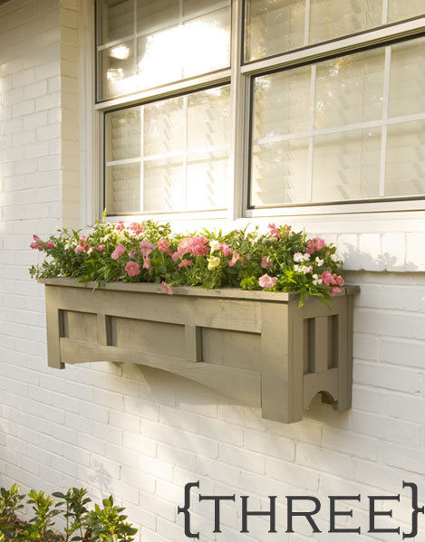 Best ideas about Window Boxes DIY . Save or Pin 20 DIY Outdoor Projects The Idea Room Now.