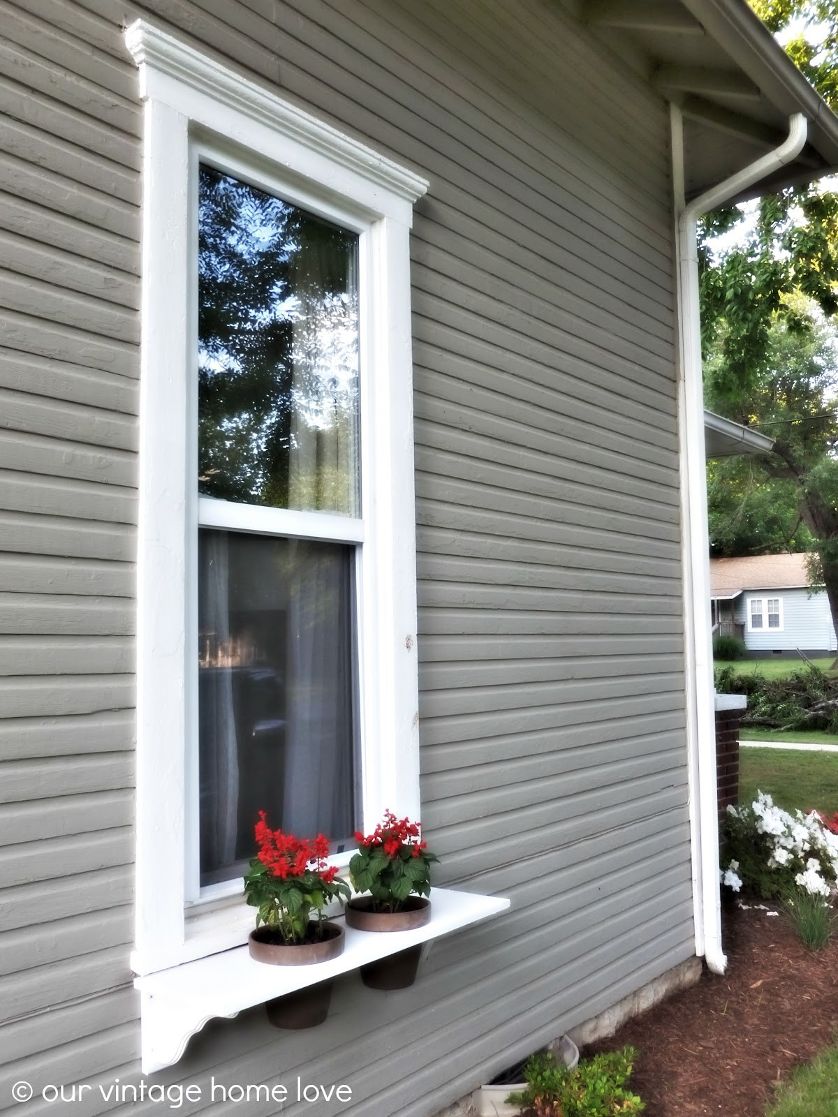 Best ideas about Window Boxes DIY . Save or Pin our vintage home love DIY Window Boxes Now.
