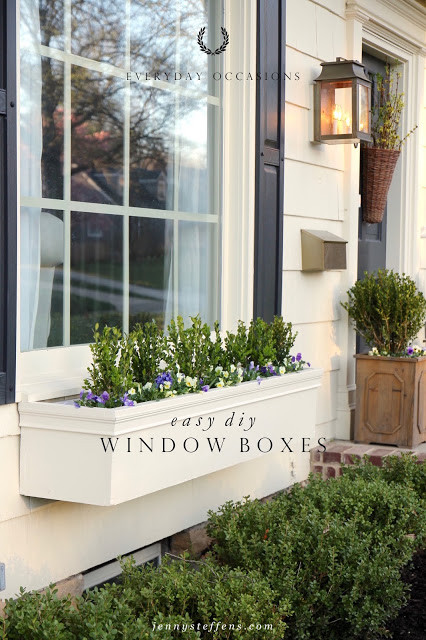 Best ideas about Window Flower Boxes DIY . Save or Pin Jenny Steffens Hobick Window Boxes Now.