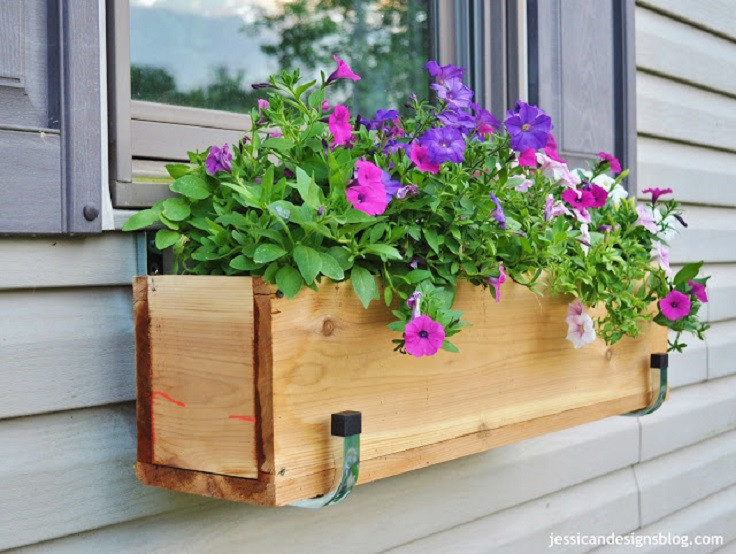 Best ideas about Window Flower Boxes DIY . Save or Pin Top 10 Best DIY Window Boxes Top Inspired Now.