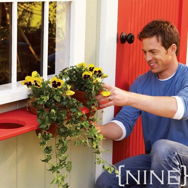 Best ideas about Window Flower Boxes DIY . Save or Pin Ten DIY Window Box Planter Ideas with Free Building Plans Now.