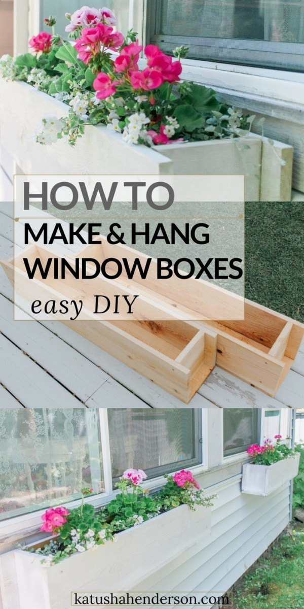 Best ideas about Window Flower Boxes DIY . Save or Pin Easy Flower Window Box DIY Now.