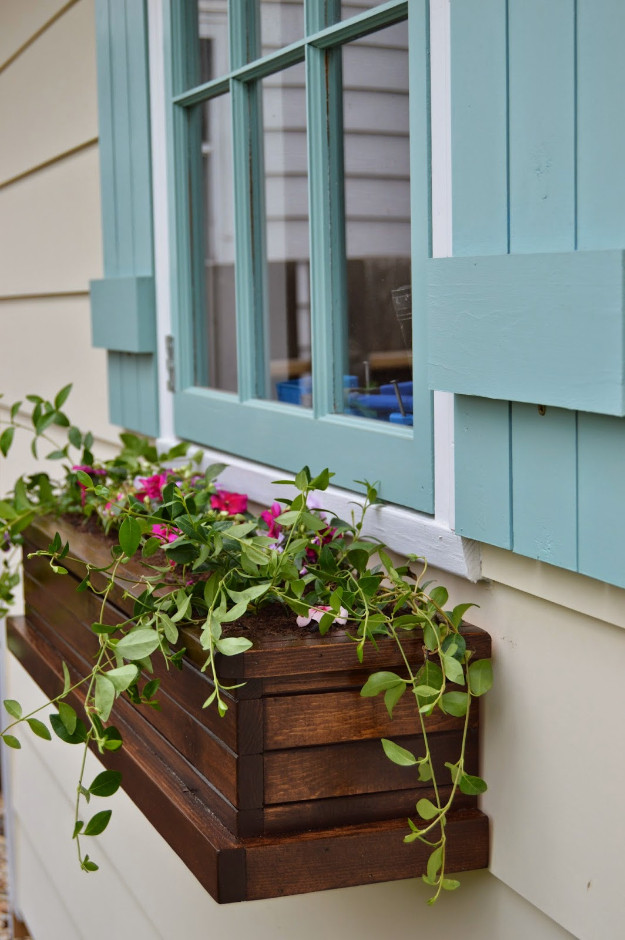Best ideas about Window Flower Boxes DIY . Save or Pin 34 Creative DIY Planters You Will Simply Adore Now.