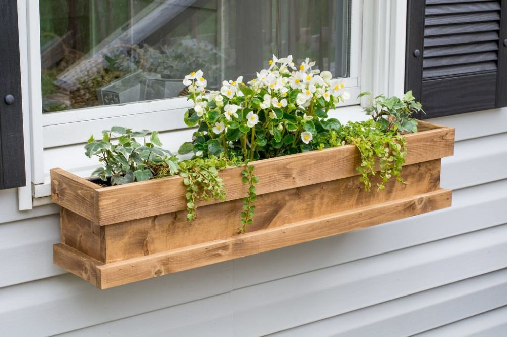 Best ideas about Window Flower Boxes DIY . Save or Pin DIY Cedar Window Boxes Now.