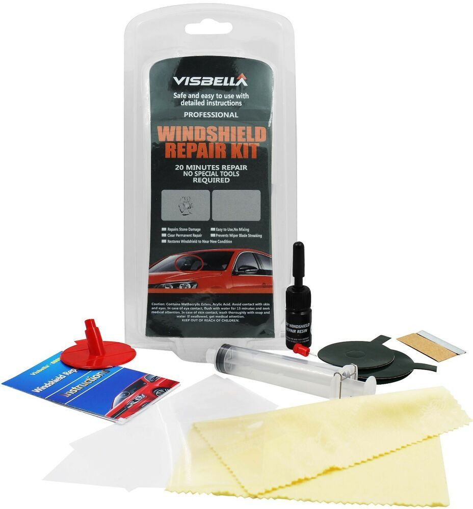 Best ideas about Windshield Crack Repair DIY . Save or Pin Car Glass Windshield Windscreen Repair Kit Chip Crack DIY Now.