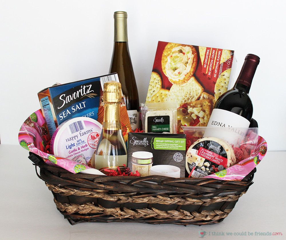 Best ideas about Wine Basket Gift Ideas . Save or Pin 5 Creative DIY Christmas Gift Basket Ideas for friends Now.