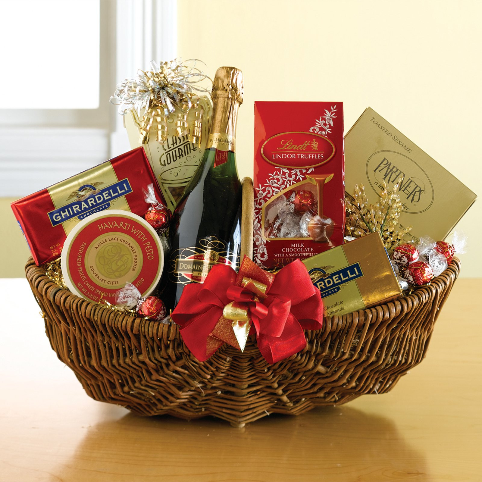 Best ideas about Wine Basket Gift Ideas . Save or Pin The Sparkler Gift Basket at Hayneedle Now.