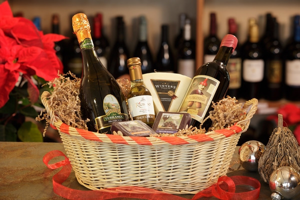 Best ideas about Wine Basket Gift Ideas . Save or Pin Christmas basket ideas – the perfect t for family and Now.