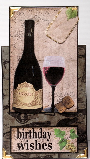 Best ideas about Wine Birthday Wishes . Save or Pin Wine Birthday Wishes Over the Edge Card CUP 539 Now.