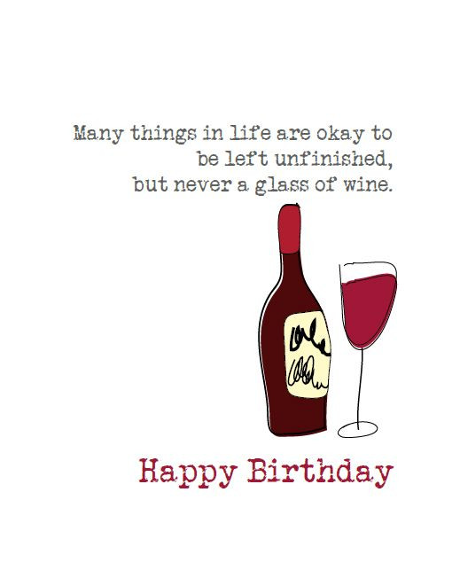 Best ideas about Wine Birthday Wishes . Save or Pin Pin by Jenny Dame on Birthday Wishes Now.