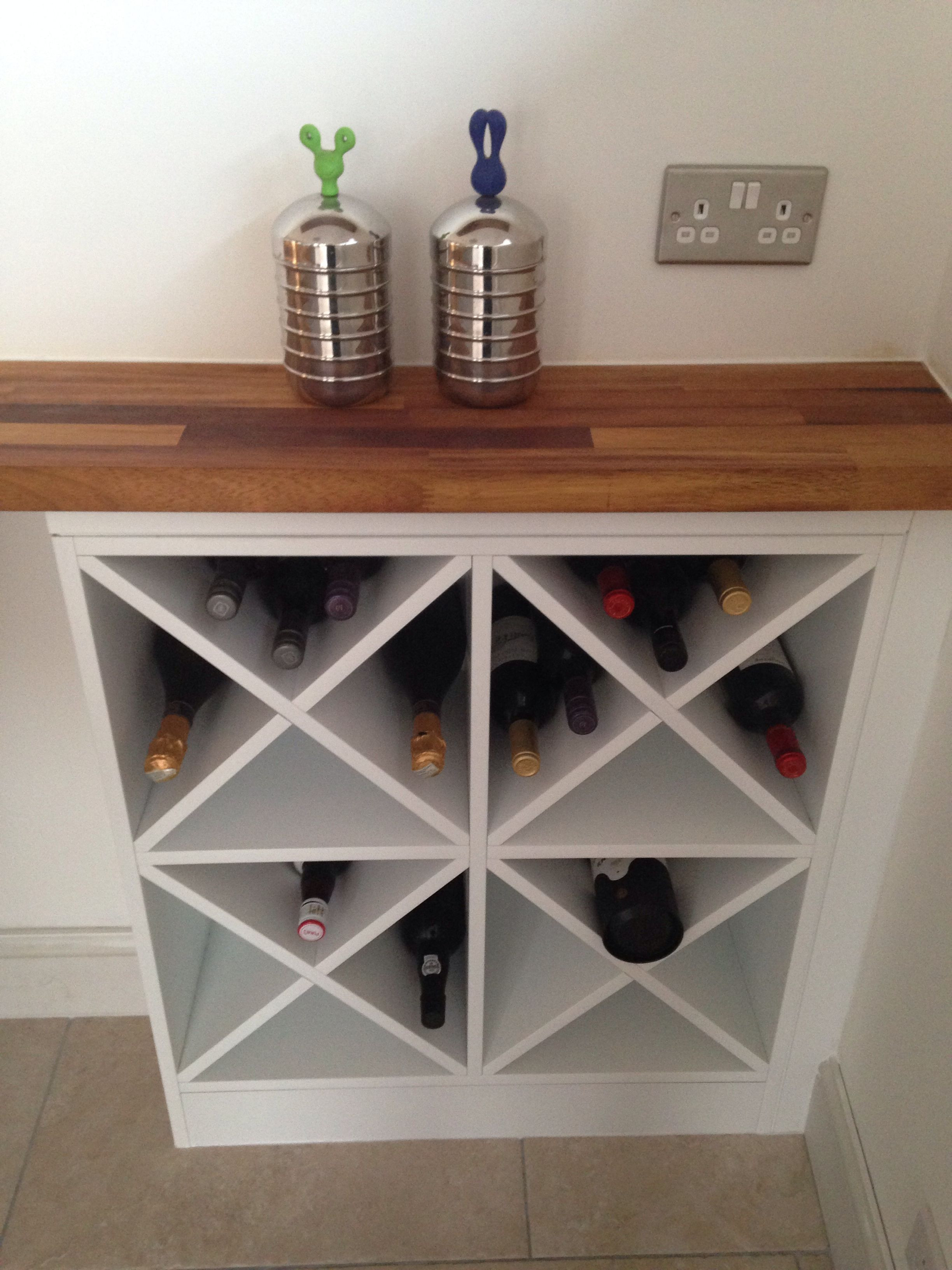 Best ideas about Wine Rack DIY . Save or Pin DIY wine rack Do it yourself Now.