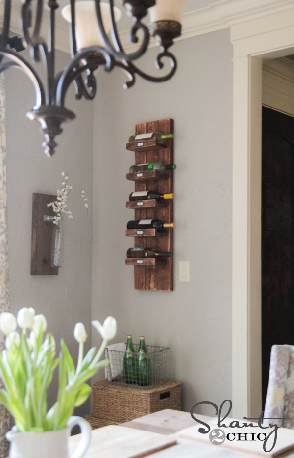 Best ideas about Wine Rack DIY . Save or Pin DIY Wine Rack Shanty 2 Chic Now.