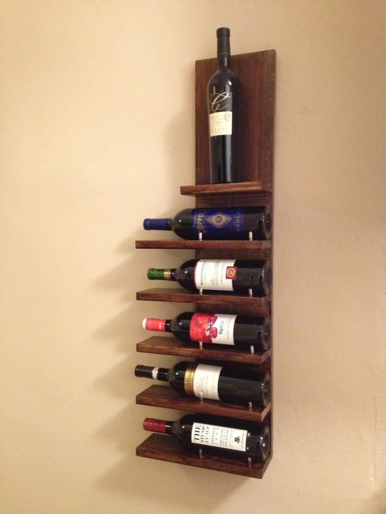 Best ideas about Wine Rack DIY . Save or Pin 14 Easy DIY Wine Rack Plans Now.