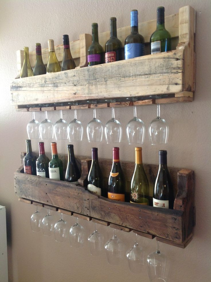 Best ideas about Wine Rack DIY . Save or Pin DIY wine racks Seth s & Kelsi s Projects Now.