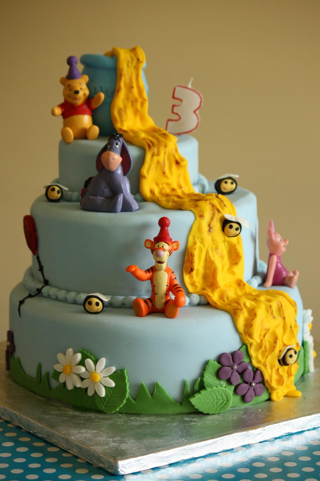 Best ideas about Winnie The Pooh Birthday Cake . Save or Pin Mellow Mummy The one with the epic Winnie the Pooh Now.