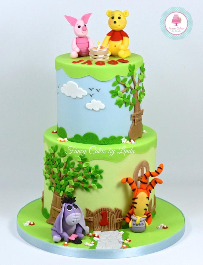 Best ideas about Winnie The Pooh Birthday Cake . Save or Pin Disney Inspired Winnie the Pooh Themed Birthday Cake Now.